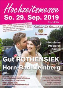 kds events präsentiert sich auf der Hochzeitsmess Gut Rothensiek in Horn-Bad Meinberg