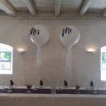Mar & Mrs XXL Luftballons im Dekorationsverleih von kds events