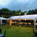 Lichterketten für die eigene Gartenhochzeit im Dekorationsvlerleih von kds events